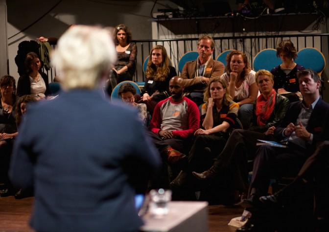 Bijeenkomst Leiderschap in Cultuur (LinC) in Het Huis in Utrecht.