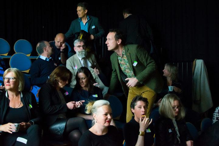 In Het Huis Utrecht kwamen LinC'ers bijeen om te leren over 'internationaal leiderschap'.
