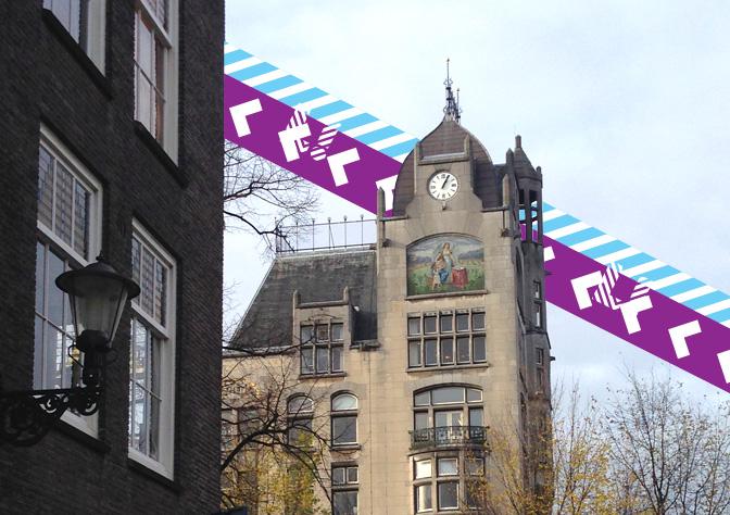 Het kantoor van Kennisland op de prachtige Keizersgracht in Amsterdam.