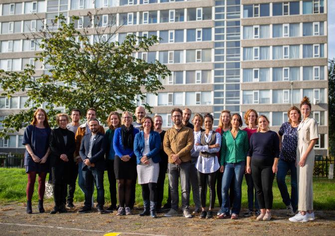 Groepsfoto deelnemers LinC Utrecht
